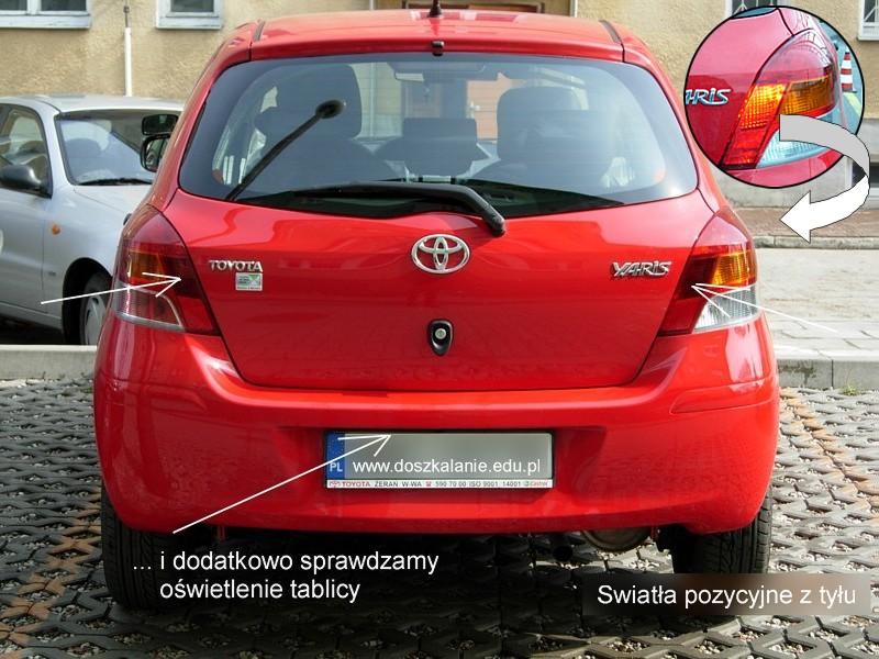 światła Zewnętrzne Toyota Yaris 13 Vvt I 101km